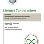 Climate Conversation with Sarah Moyes